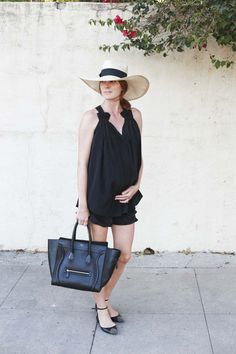 Could I Have That blogger Samantha Wennerstrom in our Lily Tank.