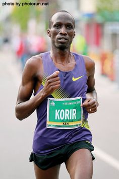 2012 Boston Marathon winner and a man of faith!