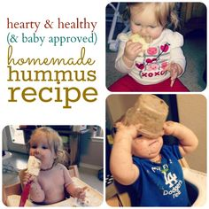 Hearty & Healthy Homemade Hummus Recipe via @Kate - The Shopping Mama