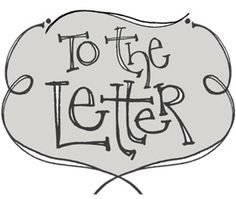 To the Letter - A Small Guide About Lettering In Your Journals http://besottment.com/besottment/2011/08/to-the-letter-a-small-guide-about-lettering-in-your-journals.html