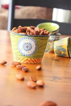 Chili Lime roasted nuts