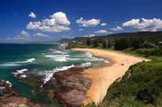 Austinmer Beach near Wollongong, NSW