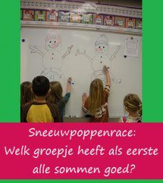Sneeuwpoppen race