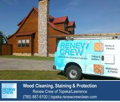 http://topeka.renewcrewclean.com – Did you know that we clean entire houses? Trust Renew Crew of Topeka/Lawrence to clean your log home, cedar plan home or wood siding. We have the ladders and equipment to do the whole house top to bottom. We serve Topeka plus Lawrence KS. Free estimates.