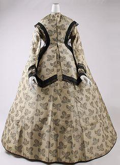 1860s Silk dress