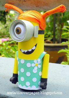 Minion Stuart in dress