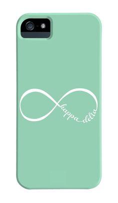 Kappa Delta Infinity Phone Case