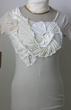 White-on-White T-shirt Tutorial