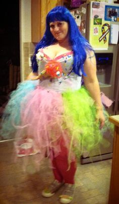 Katy Perry costume - big girls can rock it, too! This won a costume contest!