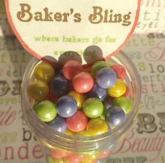 Unique Baking Accessories - Like Edible Candy Pearls