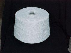 Bleach White 2/17 Acrylic Yarn by stephaniesyarn on Etsy, $26.00