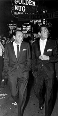 Frank and Dino las vegas, peopl, decor wall, peter lawford, rat pack, rats, ratpack, dean martin, frank sinatra