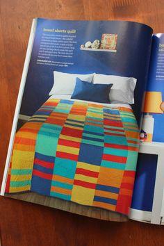 Board Shorts.  Summer 2014 Issue of Stitch magazine.