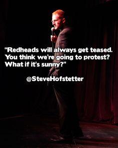 on teasing redheads