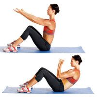 Flat-abs Pilates Workout
