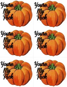 Five Free Fun Printable Fall/Halloween Gift Tags