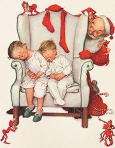 Norman Rockwells ~ Christmas ~