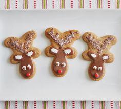 reindeer cookies, man cooki, gingerbread cookies, rudolph cooki, cookie cutters