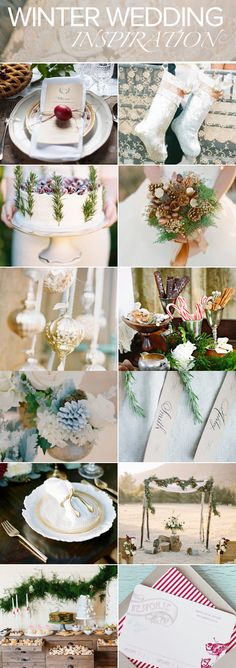 Winter wedding inspiration, for Tiff
