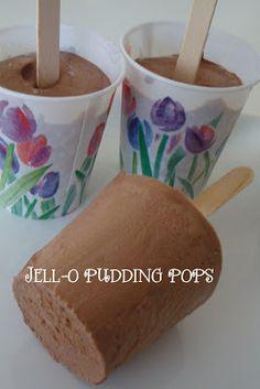 Homemaking Fun: JELL-O Homemade Pudding Pops