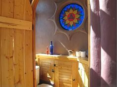 Bathrooms Design - Earthship House by James Wilson