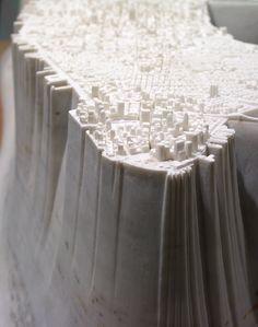 Yutaka Sone, Little Manhattan (detail), 2007-2009. Courtesy of David Zwirner Gallery.