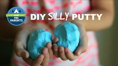 Two-Ingredient Silly Putty--Make your own using two household supplies! #CampPBSParents