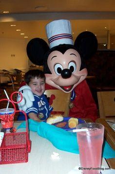 Great Disney World Restaurants for Boys!