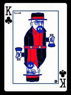'Breaking Bad' playing cards - Walter White