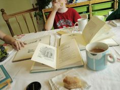 """Have a """"Poetry Tea"""" with your kids! #nationalpoetrymonth"""
