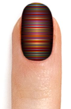 Colorful nail