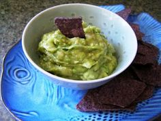 I am about to become a Football season widow once again.  Instead of feeling neglected I use the opportunity to show my family just how great and supportive I am by providing healthier versions of the traditional snacks.  Here a great recipe for a surprising fantastic guacamole.   Using ripe bananas adds moisture and sweetness, while green, not yet ripe, reduces the sugar and boosts the potassium.  Add the bonus that avocado is a wrinkle reducer and you may not want to share. LUV THIS!!