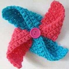 Crochet Pattern: Pinwheel