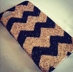 diy phone case ideas | Crafty and DIY / DIY glitter phone case