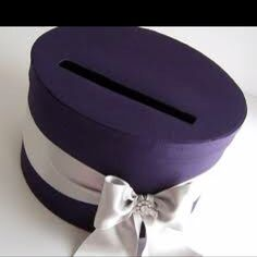 Purple round money box google images
