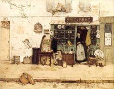 Bric-à-brac. 1906, Tavik František Šimon (Czech, 1877-1942)