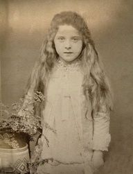 lady almina highclere castle | Almina Wombwell, as a child, later Lady Almina, 5th Countess of ...