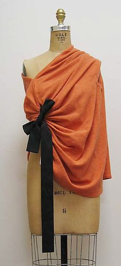 French Wool and Silk Cape, 1950's
