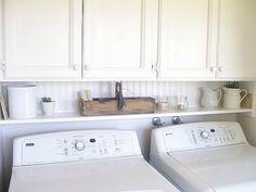 Laundry room shelf?