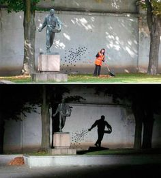 love the play on shadows