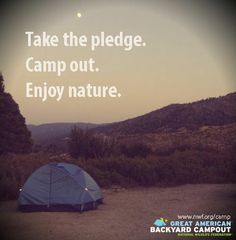 Learn how your summer camping trip can make a difference for wildlife!