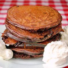 Chocolate Toblerone Pancakes