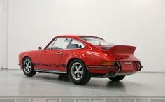 1973 911 Carrera RS india red restored for sale | Sloancars