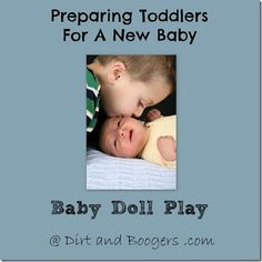 What tips do you have for preparing children for a new baby?