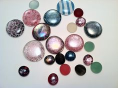 Painted Marbles - using nail polish - another fabulous and fabulously simple idea!
