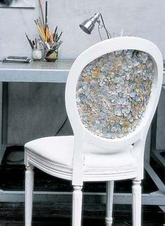 DIY: Button-Backed Chair