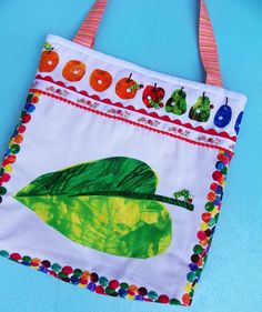 Hungry Caterpillar Tote by WildOliveKids on Etsy, $18.00