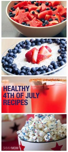 Here are some yummy and healthy 4th of July recipes that your party guest will LOVE!