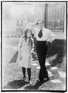 Mary Pickford  Douglas Fairbanks.