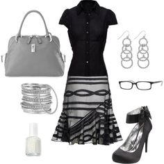 A fashion look from November 2011 featuring Vivienne Westwood Anglomania blouses, Reiss skirts and Michael Antonio pumps. Browse and shop related looks.